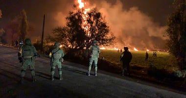 mexico explosion