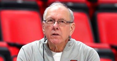 Syracuse head coach Jim Boeheim