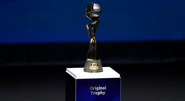 Women's World Cup trophy
