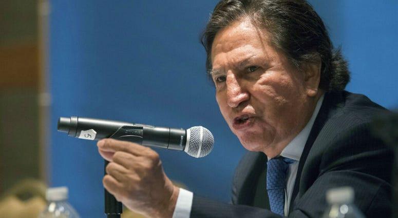 Former Peruvian President Alejandro Toledo.
