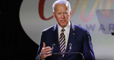 Former Vice President Joe Biden speaks at the Biden Courage Awards.
