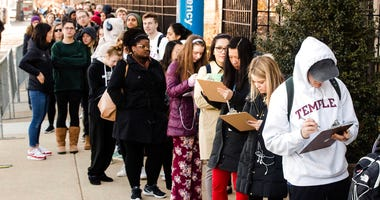Mumps outbreak at Temple University