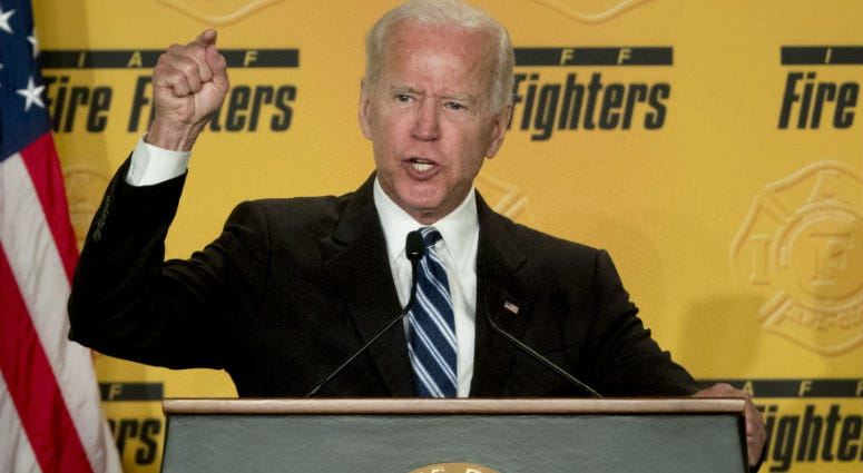 Joe Biden says he does not recall kissing a Nevada political candidate on the back of her head in 2014.