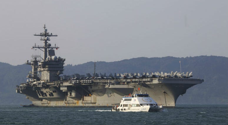 A U.S. sailor has pleaded guilty to espionage and sentenced to three years after admitting he took classified information about a Navy's nuclear-powered warship and planned to give it to a journalist and then defect to Russia officials said Friday, May 24