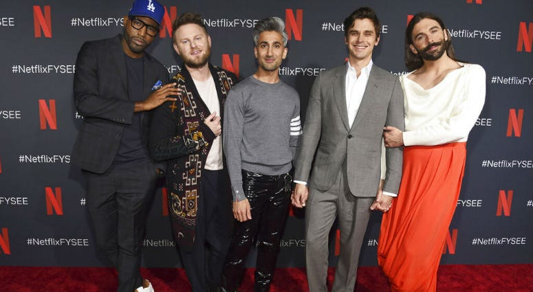 """Netflix's show """"Queer Eye"""" says it's bringing fabulousness to the masses for two more seasons."""