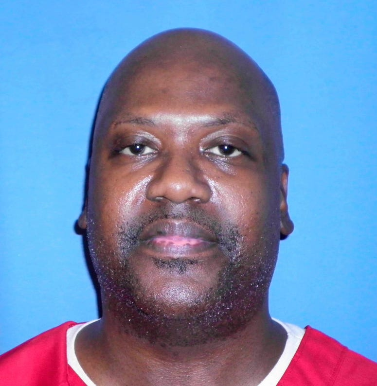This Aug. 3, 2017 photo provided by Mississippi Department of Corrections shows Curtis Flowers, who's murder case has gone to trial six times.