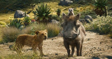 """The Walt Disney Co. is ruling the box office again with the record-breaking debut of """"The Lion King"""" this weekend."""