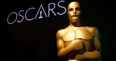 In this Feb. 4, 2019, file photo, an Oscar statue appears at the 91st Academy Awards Nominees Luncheon in Beverly Hills, Calif.