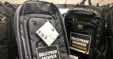 Bullet-resistant backpacks