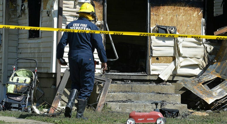 Authorities say an early morning fire in northwestern Pennsylvania claimed the lives of multiple children and sent another person to the hospital.