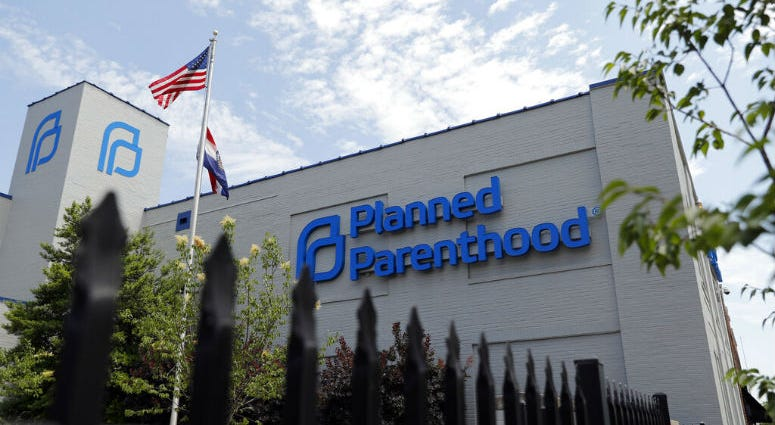FILE- In this June 4, 2019, file photo, a Planned Parenthood clinic is photographed in St. Louis.