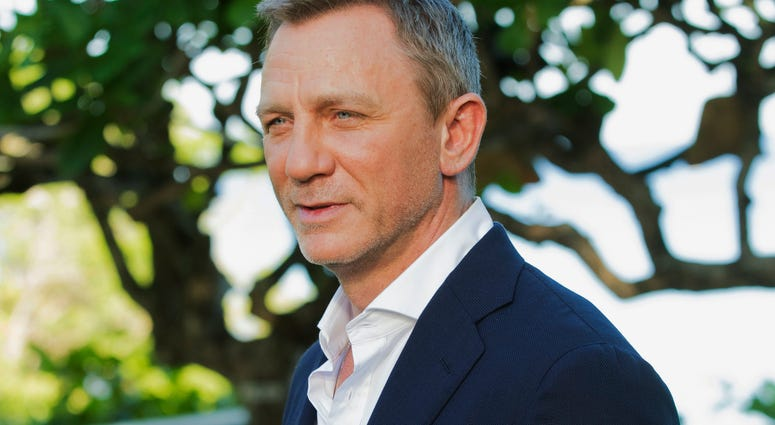 In this April 25, 2019, file photo, actor Daniel Craig poses for photographers during the photo call of the latest installment of the James Bond film franchise, in Oracabessa, Jamaica.