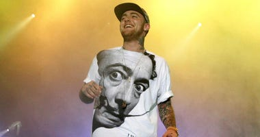 Mac Miller on stage in 2013.