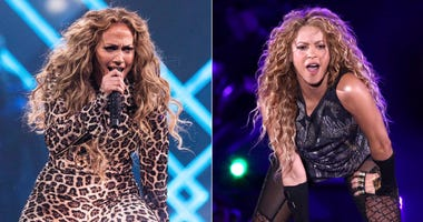 Jennifer Lopez and Shakira
