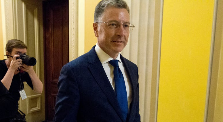 Kurt Volker, a former special envoy to Ukraine, is leaving after a closed-door interview with House investigators as House Democrats proceed with the impeachment investigation of President Donald Trump.