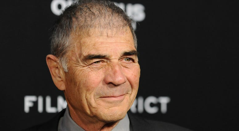 """In this file photo, Robert Forster arrives at the LA premiere of """"Olympus Has Fallen"""" at the ArcLight Theatre in Los Angeles."""