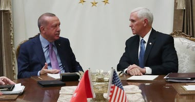 A high level U.S. delegation arrived in Turkey on Thursday for talks on a cease-fire in Syria.