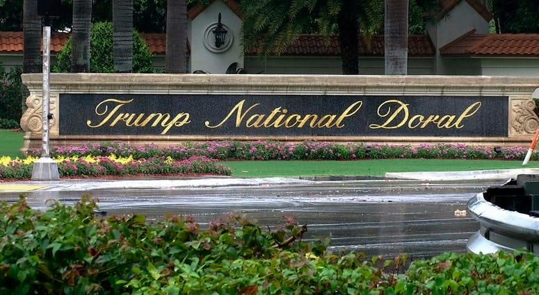 File image of the Trump National Doral resort in Doral, Fla.