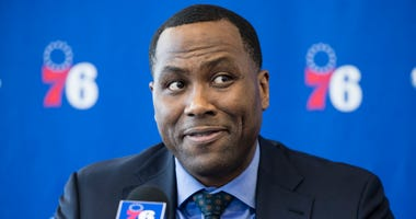 Philadelphia 76ers general manager Elton Brand