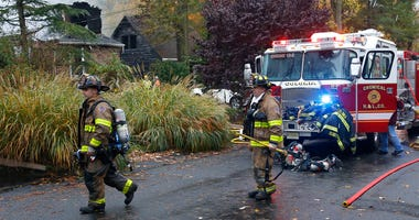 Woodbridge firefighters