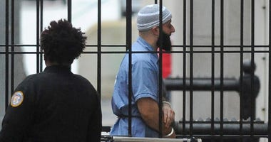 Adnan Syed enters Courthouse East in Baltimore prior to a hearing on Feb. 3, 2016.