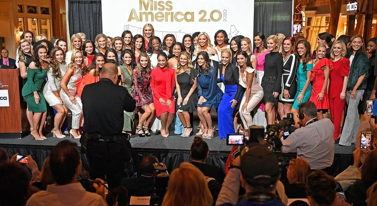 Miss America 2020 candidates