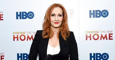"In this Dec. 11, 2019 file photo, author J.K. Rowling attends the HBO Documentary Films premiere of ""Finding the Way Home"" in New York."