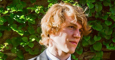 FILE - This undated file photo provided by Matthew Westmoreland shows Riley Howell.