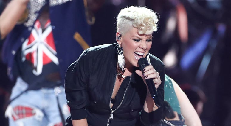 Singer Pink says she's donating $500,000 to help fight the deadly wildfires that have devastated parts of Australia.