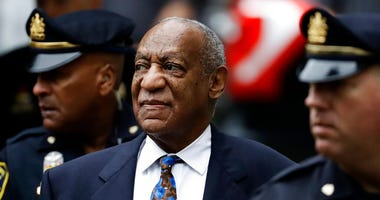 In this Sept. 24, 2018 file photo, Bill Cosby arrives for his sentencing hearing at the Montgomery County Courthouse, in Norristown, Pa.