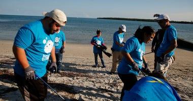Miami Beach cleanup