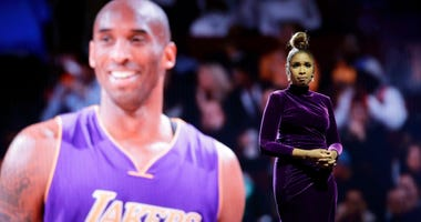 Jennifer Hudson sings a tribute to former NBA All-Star Kobe Bryant and his daughter Gianna, who were killed in a helicopter crash Jan. 26, before the NBA All-Star basketball game Sunday, Feb. 16, 2020, in Chicago.