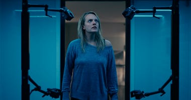 """This image released by Universal Pictures shows Elisabeth Moss in a scene from """"The Invisible Man."""""""