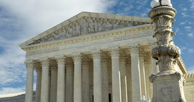 The Supreme Court is seen in Washington, D.C., Jan. 27, 2020.