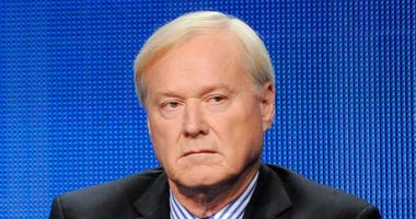 FILE - This Aug. 2, 2011 file photo shows MSNBC host Chris Matthews takes part in a panel discussion at the NBC Universal summer press tour in Beverly Hills, Calif.