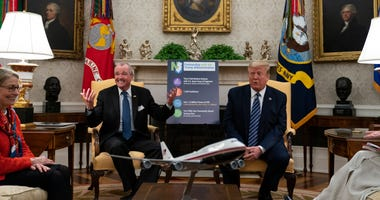 President Donald Trump and New Jersey Gov. Phil Murphy