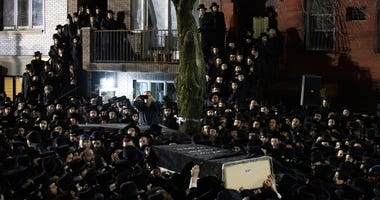Moshe Deutsch funeral in New York
