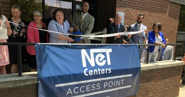 Access Point is a round-the-clock facility that allows families to bring their loved ones in for treatment the minute they say they're ready. A ribbon-cutting ceremony opened the facility.