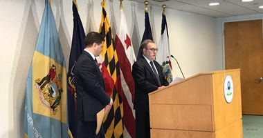 Acting EPA Administrator Andrew Wheeler is in Philadelphia to announce an action plan to deal with PFAS, which has affected drinking water in communities like Horsham, Warrington and Warminster.