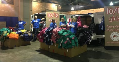 The Auto Dealers CARing for Kids Foundation is giving away tens of thousands of coats.