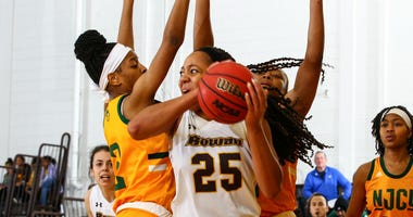 Rowan sophomore center Ayanna Johnson is averaging 13.5 rebounds a game.
