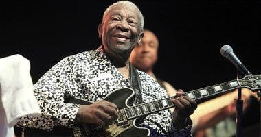 Blues music legend B.B. King