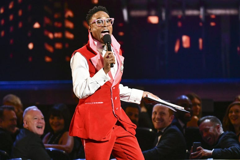 Billy Porter speaks at the 73rd annual Tony Awards at Radio City Music Hall on Sunday, June 9, 2019, in New York.