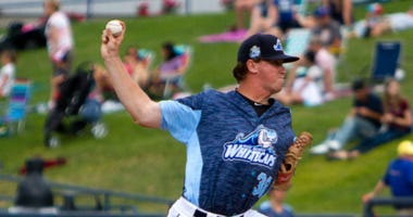 Penn product Billy Lescher has five saves this season for Single-A West Michigan.