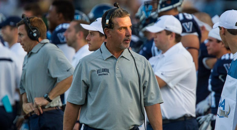 Villanova head coach Mark Ferrante