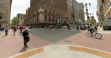 Broad and Walnuts streets