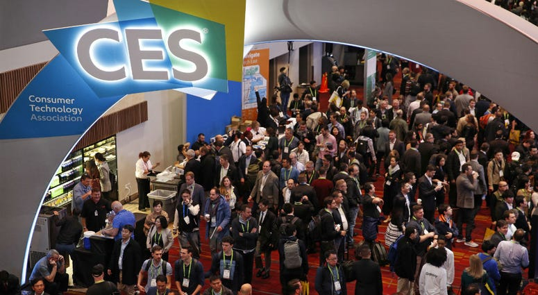 In this Jan. 9, 2018, file photo, people attend CES International in Las Vegas.
