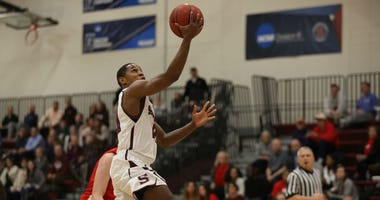 Swarthmore College senior guard Cam Wiley