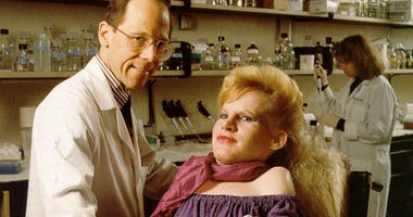 Frederick Kaplan and his patient Carol Orzel