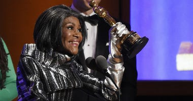 Actress Cicely Tyson accepts her honorary Oscar onstage at the 2018 Governors Awards at The Ray Dolby Ballroom on Sunday, Nov. 18, 2018, in Los Angeles.